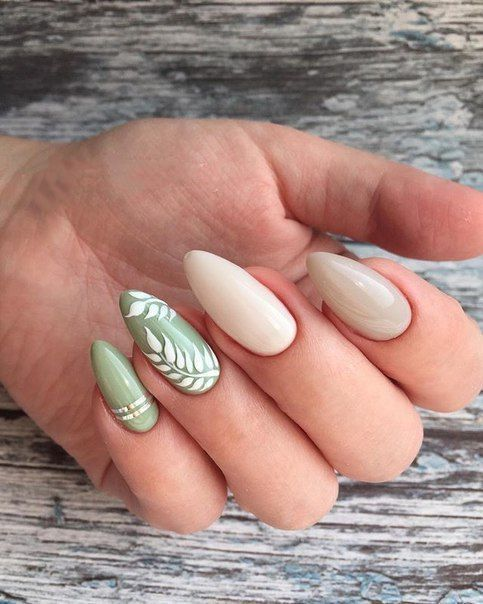 30 Leaf Nail Art Ideas to Try in Seasons