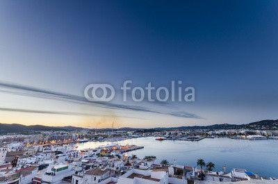 Veduta #Ibiza €Città #Castello