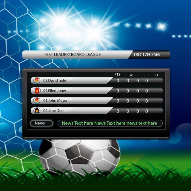Soccer Game Score Board Soccer Games Soccer Scores