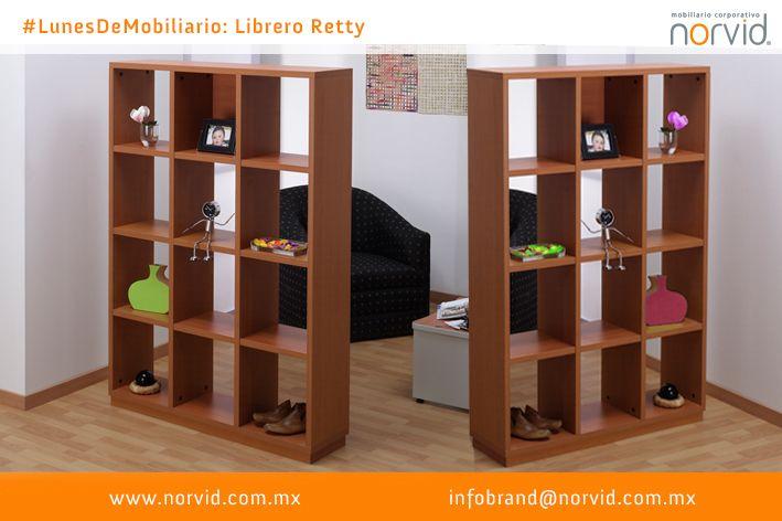 #LunesDeMobiliario #norvid #diseño #diseno #interiorismo #arquitectura #oficina #Muebles #Librero #Reticular #Retty  Les presentamos nuestro librero Retty, con 16 luces y un respaldo.  Ideal para cualquier oficina, sala de juntas, espacio abierto, cubículo y uso home.  En colores de línea o texturizados. Pregunta por la gama.  Más info en www.norvid.com.mx