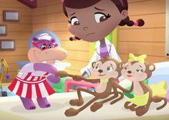 DoctoraJuguetesJuegos.com - Juego: Rompecabezas Ivan y Ana Banana - Juegos de Puzzles de Doctora Juguetes Disney Jugar Gratis Online