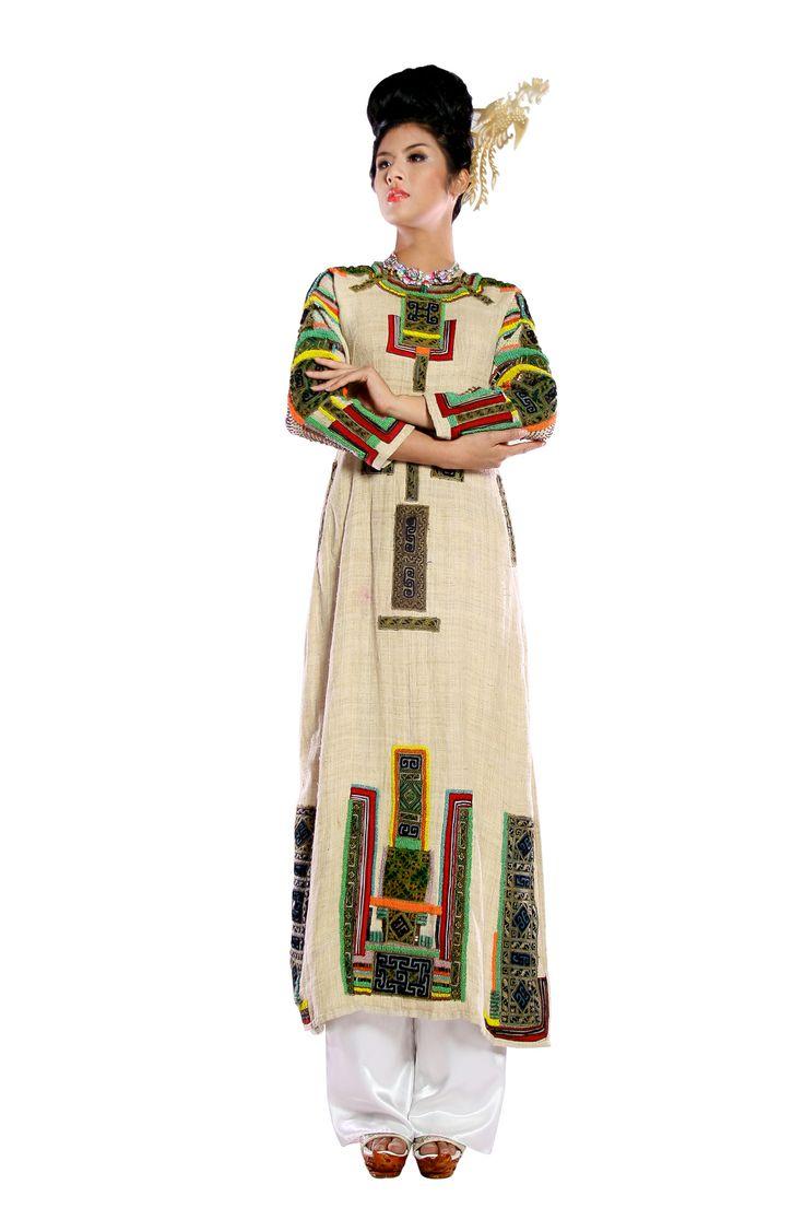 Minh Hanh.Vietnamese Fashion Designer. France 2012  Photo: Huy Anh.  Model: Ngoc Han