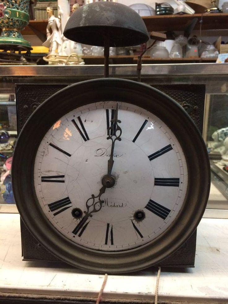 Antique grandfather clock face. Daix a St. Medard. Gorgeous!