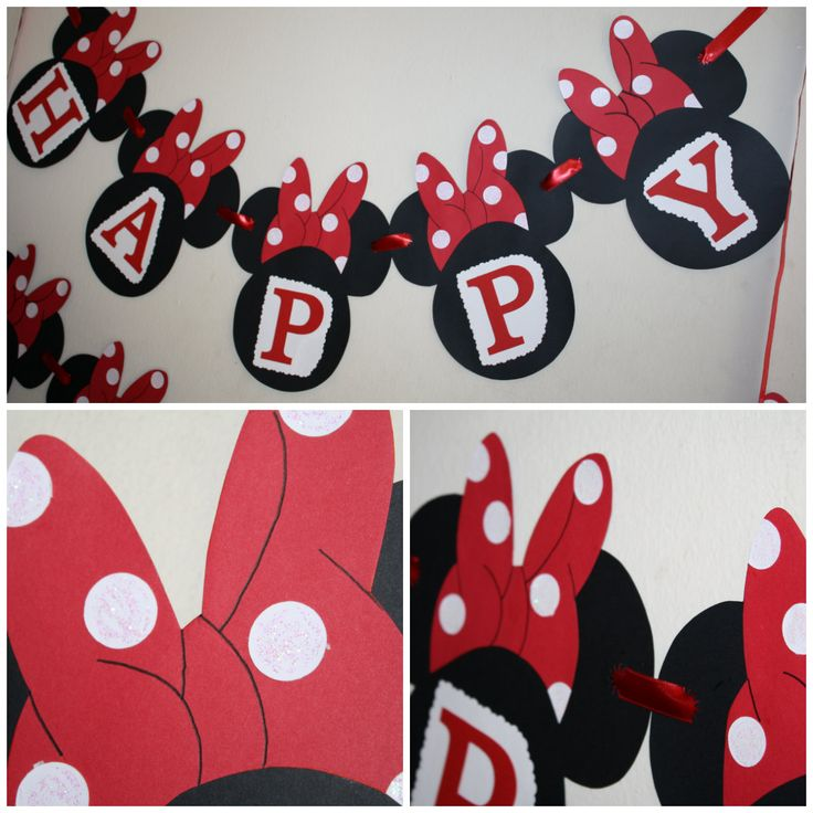 minnie mouse party supplies red and black   MINNIE MOUSE CLASSIC RED AND WHITE GOODIES :-)