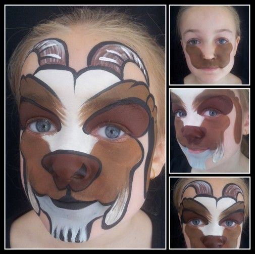 goat face painting - Google Search