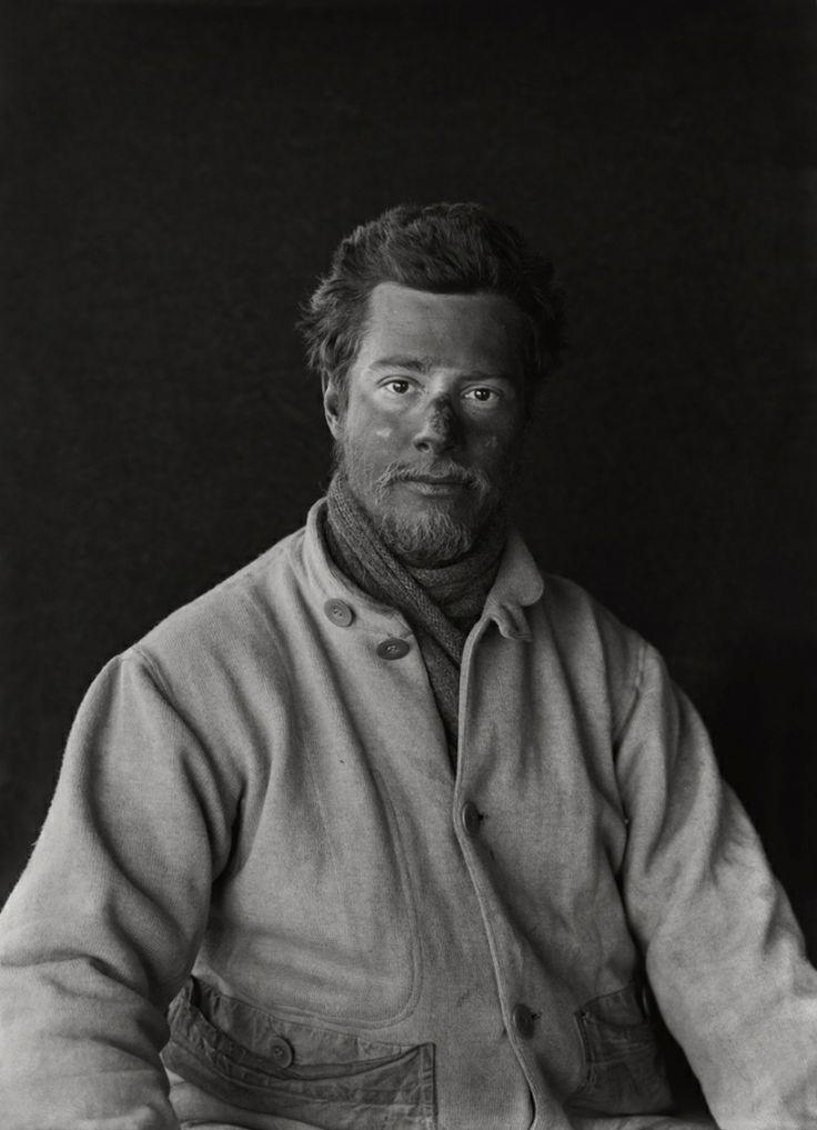 Herbert George Ponting - Apsley Cherry-Garrard on return from the barrier, 29 Jan 1912. Scott Polar Research Institute.