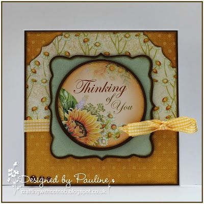 Crafting with Cotnob, Die-namics, Foundations Card Stock, Spellbinders, Summer, The Paper Boutique, The Paper Boutique Sunflower Song