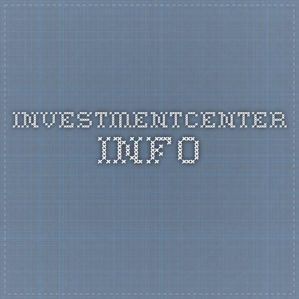 investmentcenter.info
