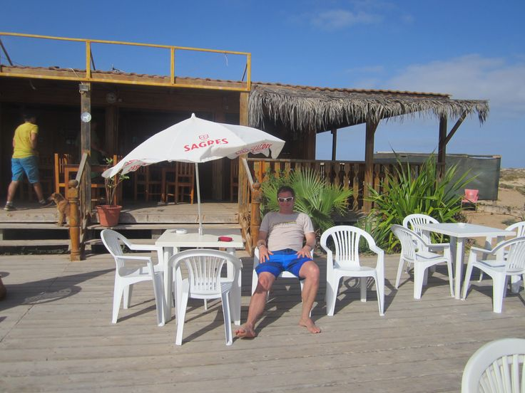 Punta Preta - may as well relax as there are no waves