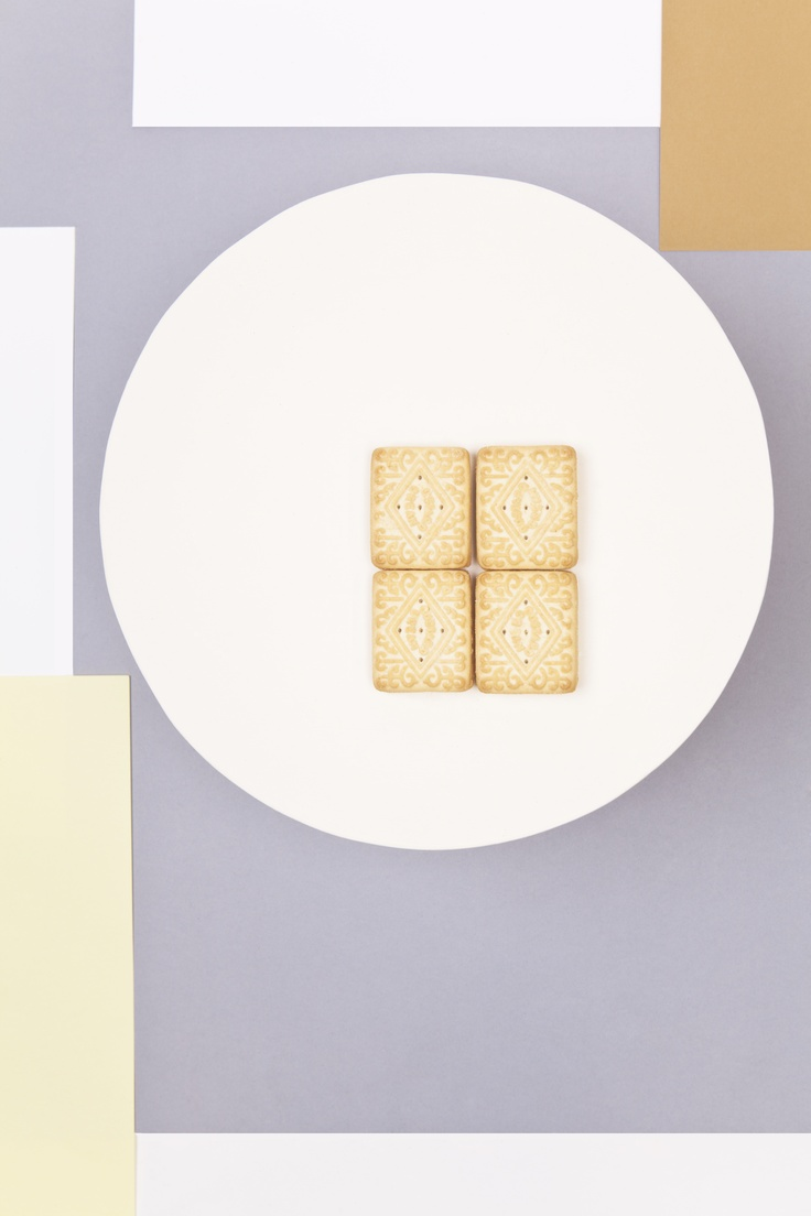 Custard Creams - Inspired by graphic design and russian constructivism.