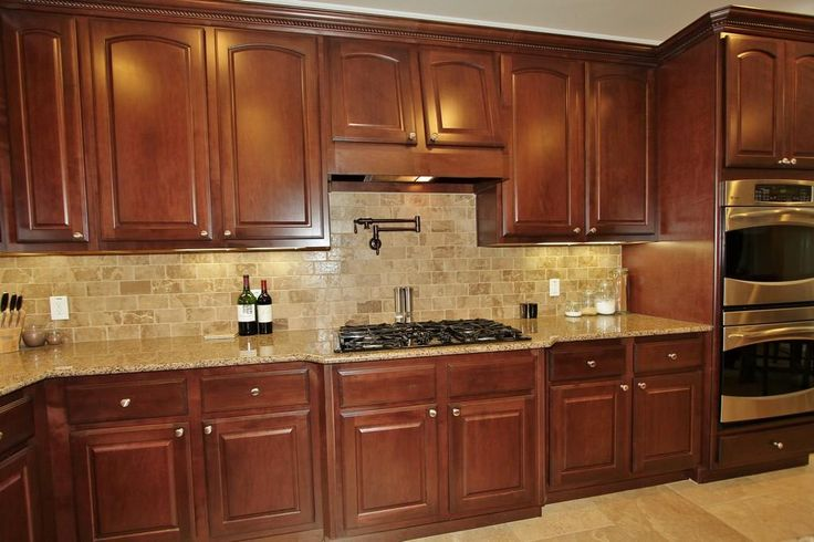 Brick Style Backsplash Tile For Log Home Google Search