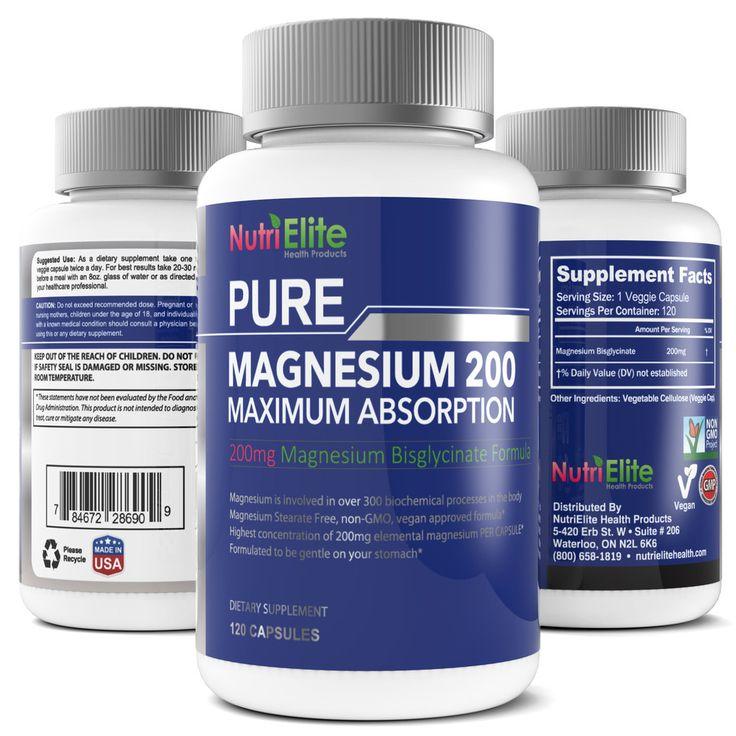 NutriElite Magnesium Glycinate