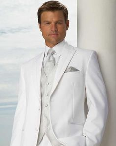 Breathtaking 15 TopWhite Groom Tuxedos Men Wedding Suits https://fazhion.co/2018/02/17/15-topwhite-groom-tuxedos-men-wedding-suits/ 15 Top White Groom Tuxedos Men Wedding Suits article for you presenting here with selected stylish fashion design suits wearing by the people you know. Keep on reading and examine the images to get inspiration as well. #menssuitsstylish #menweddingsuits