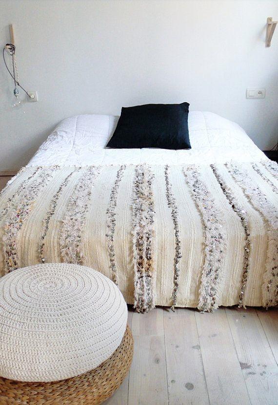 Moroccan Wedding Blanket Bedroom