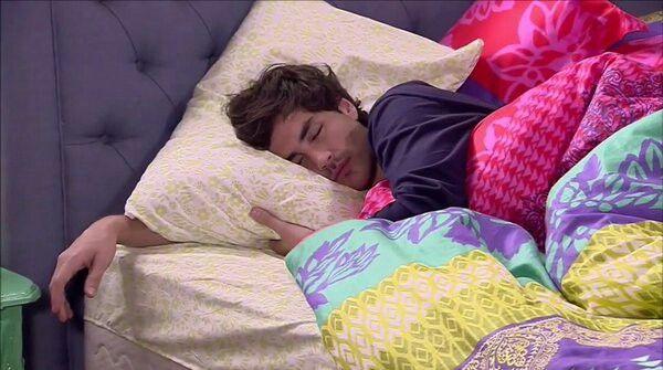 Hasta durmiendo es hermoso