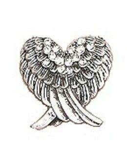 15 best angel wings images on pinterest angel wings angel and rh pinterest com angel wing heart pendant angel wing heart earrings