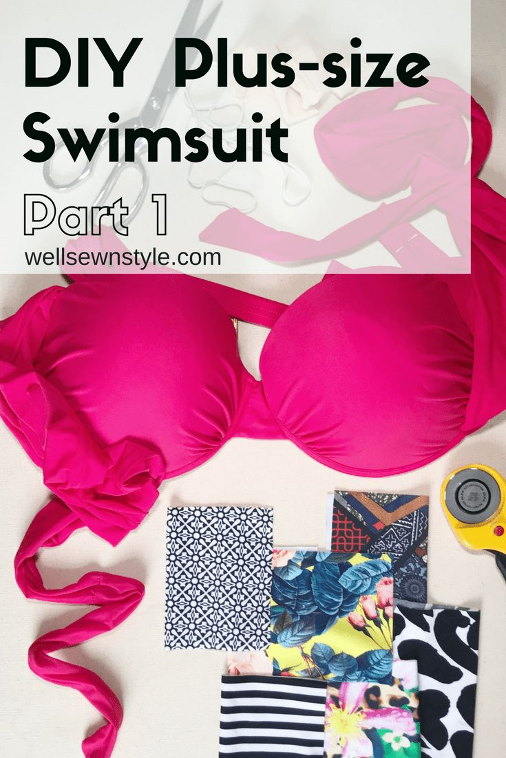 DIY Plus-Size Supportive Swimwear Part 1 – Well Sewn Style