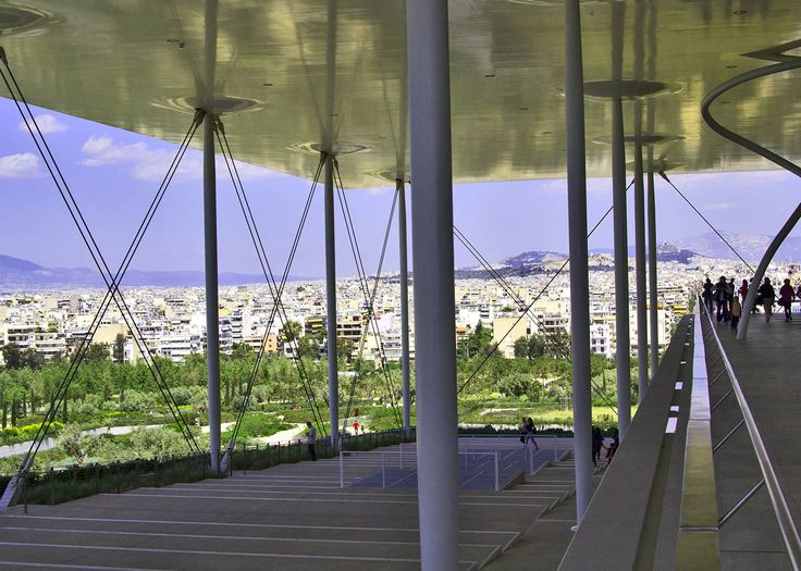 The view from The Stavros Niarchos Park - Athens