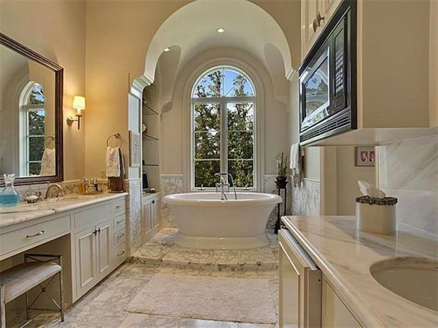 Beautiful master bathrooms my beautiful home pinterest Beautiful bathrooms and bedrooms magazine