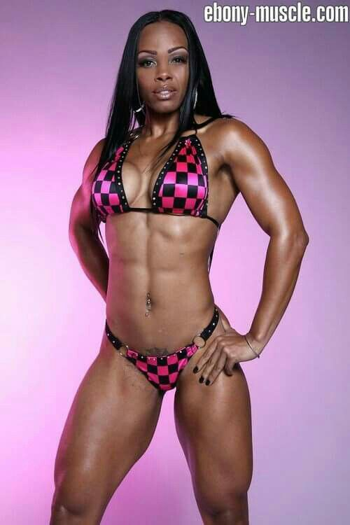 Ebony Black Muscle 85