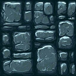 Stone Wall 2D Sprite Super cool World of Warcraft Art