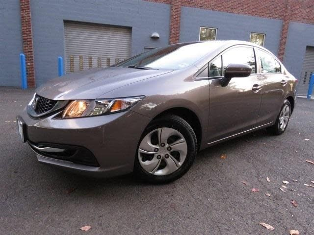CPO 2014 Honda Civic LX for sale at DCH Paramus Honda in Paramus, NJ for $14,585. View now on Cars.com.
