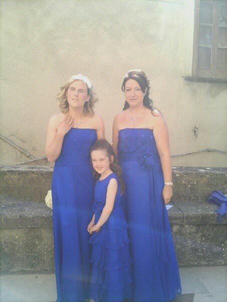 Bridesmaids for an Italian wedding