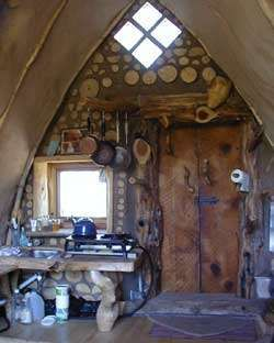 How to Build Dirt Cheap Houses - an article on earth bag houses from Instructables.com