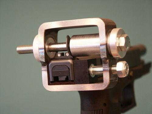 Glock Rear Sight Pusher Tool Heavy Duty Precision Construction   eBay