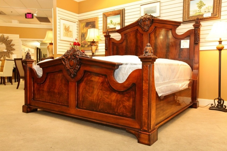Henredon Natchez Collection Mahogany Bed Colleen S