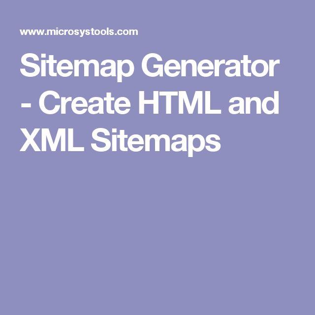sitemap generator create html and xml sitemaps - Omnigraffle Sitemap Generator