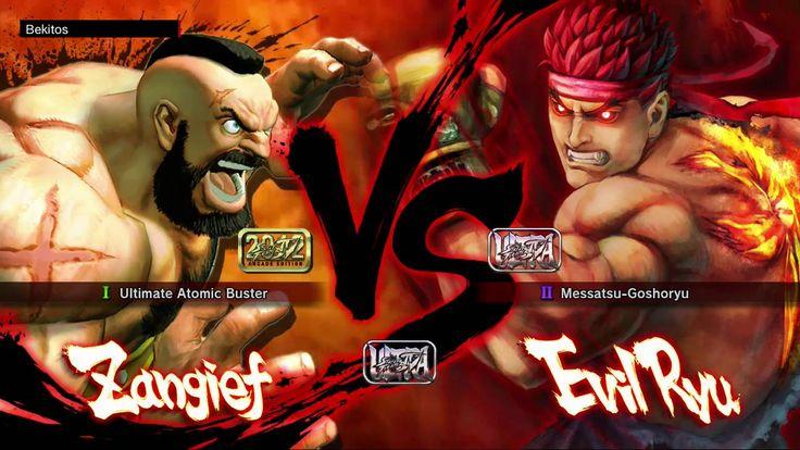Ultra Street Fighter 4 - Lito (Zangief) vs Bekitos (Ryu, Evil Ryu)