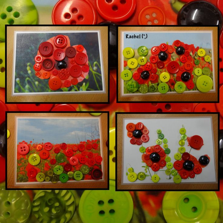 """Tracing poppy pictures - from Rachel ("""",)"""