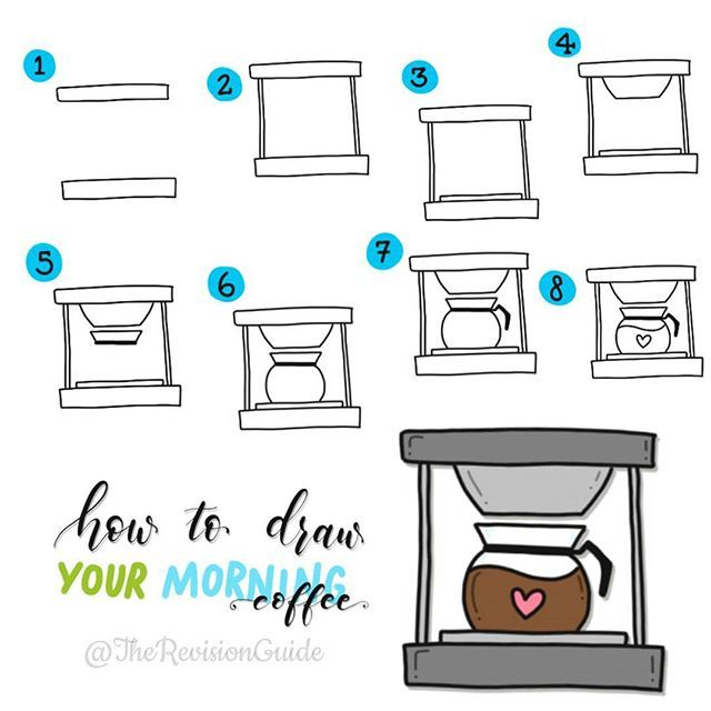 how to draw a pot step by step