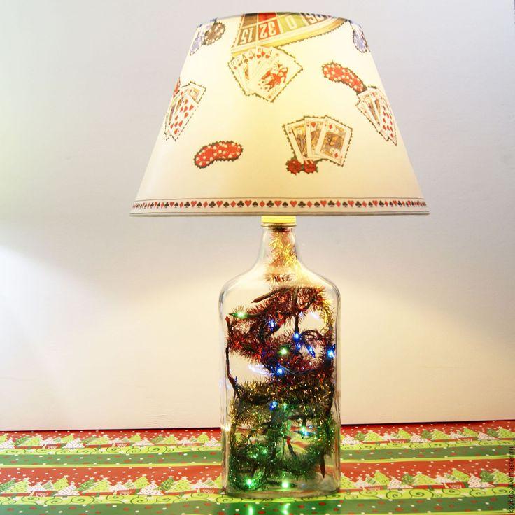 """Купить Светильник """"Новый Год"""" 06 BG Caz - лампа, светильник, подарок, подарок на новый год"""