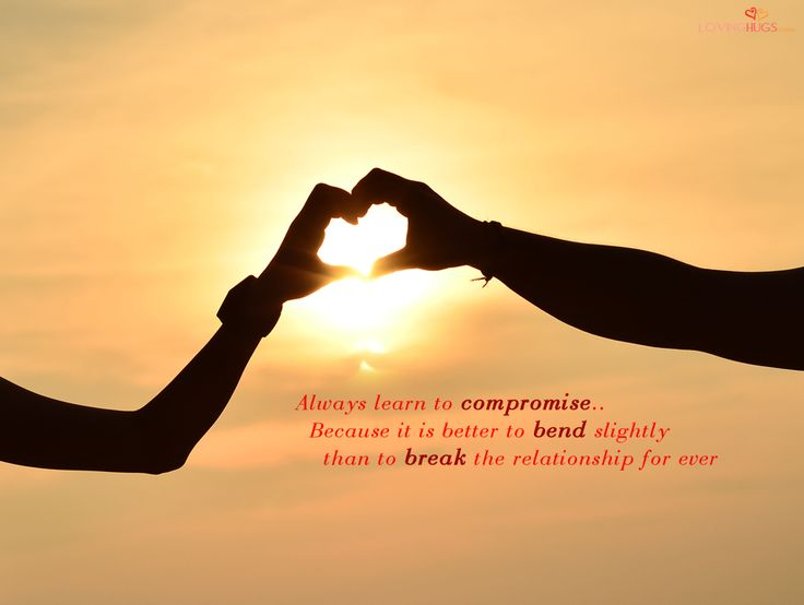 Nice Love Wallpapers- Compromise