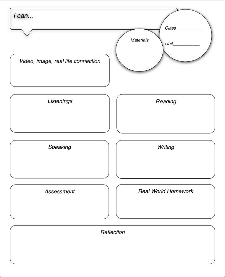Middle school band lesson plan template in the middle for Day plan template for teachers