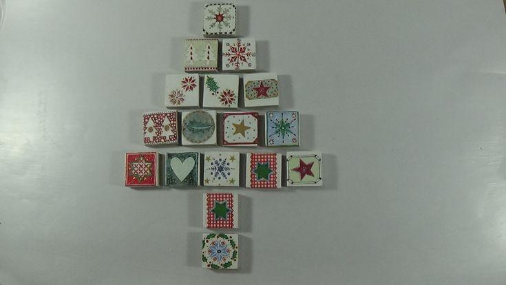 Decoupage on mosaic tiles