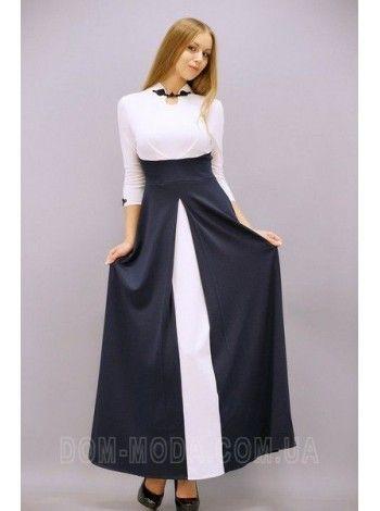 """Женское макси платье большого размера """"Сакура"""""""