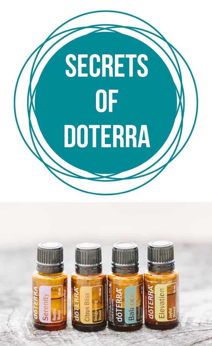 Secrets of doTERRA | Healthy Belly Happy Mind