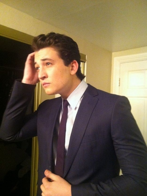 Or from your dreams, which is where he'll be starring next. | 21 Reasons Miles Teller Should Be Your Next Celebrity Crush