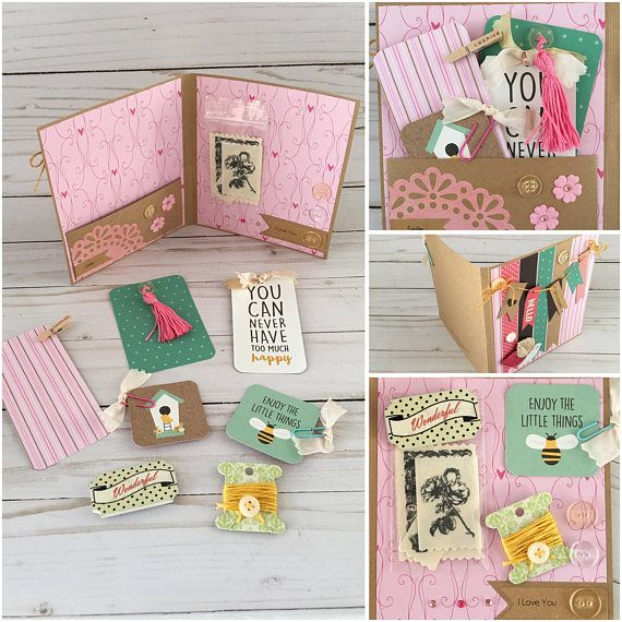 Happy Mail Card Pack, Mail-able Mini, Pen Pal, Greeting