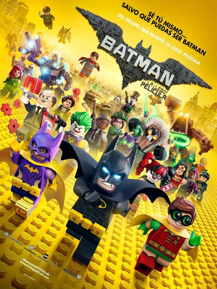"""WARNER BROS nos presenta una de las películas más esperadas del 2017, de uno de los personajes más famosos de DC, el es: """"Batman Lego""""."""