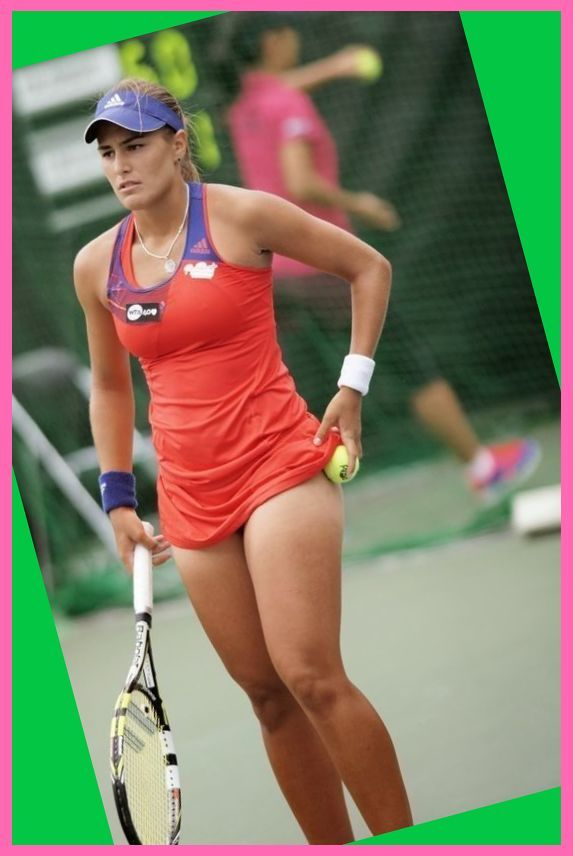 Monica Puig Tennis Outfit Casual Tennis Outfit For Girls Tennis Outfit Modest In 2020 Girl Tennis Outfit Tennis Clothes Tennis Players Female