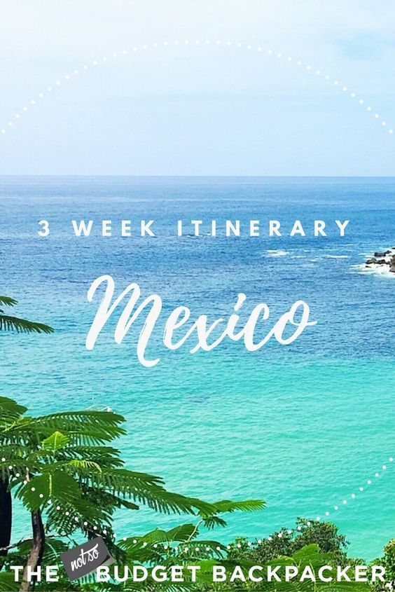 Mexico is a hard country to cover on limited time. Here is my ideal itinerary for where to go in Mexico when you only have 3 weeks. // Mexico travel, things to do in Mexico, places to visit in Mexico, what to do in Mexico, traveling to Mexico tips, tour Mexico, Mexico travel advice, backpacking Mexico itinerary, Mexico travel destinations, Mexico travel guide, Mexico activities, what to see in Mexico, 3 weeks in Mexico, Best things to do in Mexico, Mexico itinerary, three weeks in Mexico