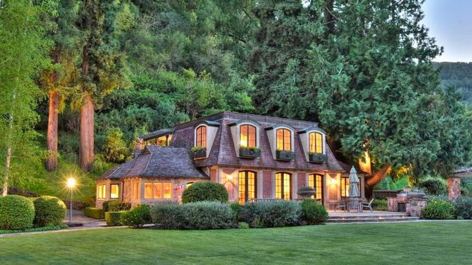 Destination Estate With A Storied History 25m Adobe Creek Lodge