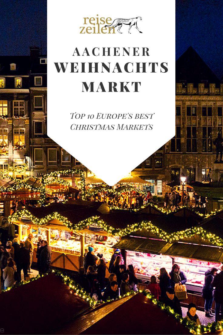Vom 18. November bis 23. Dezember 2016 ist Weihnachtsmarkt in Aachen.