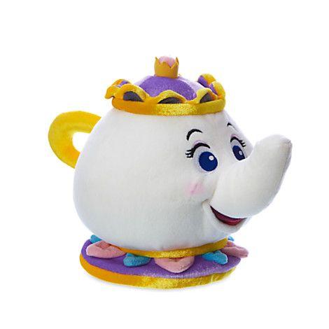 Mrs. Potts Plush - Beauty and the Beast - Small - 7 1/2''   Disney Store