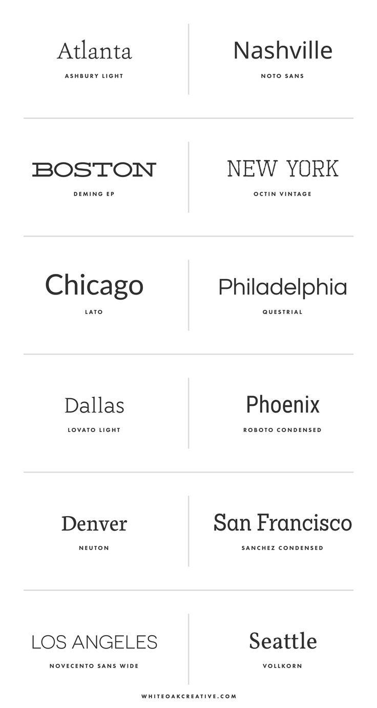 Top 12 Free Americana Fonts | White Oak Creative