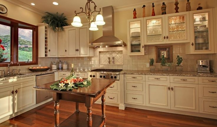 Plantation home kitchen. Kind of cool, but probably would ...